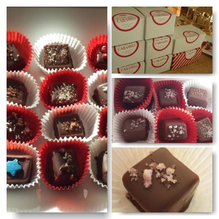 caramel collage