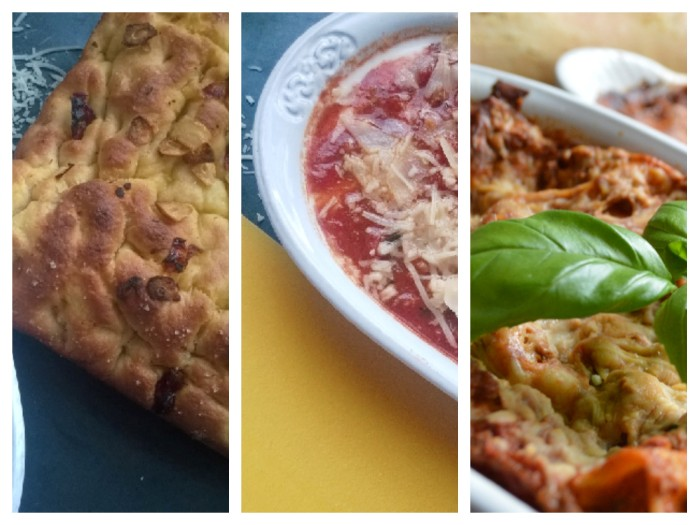 lasagne collage