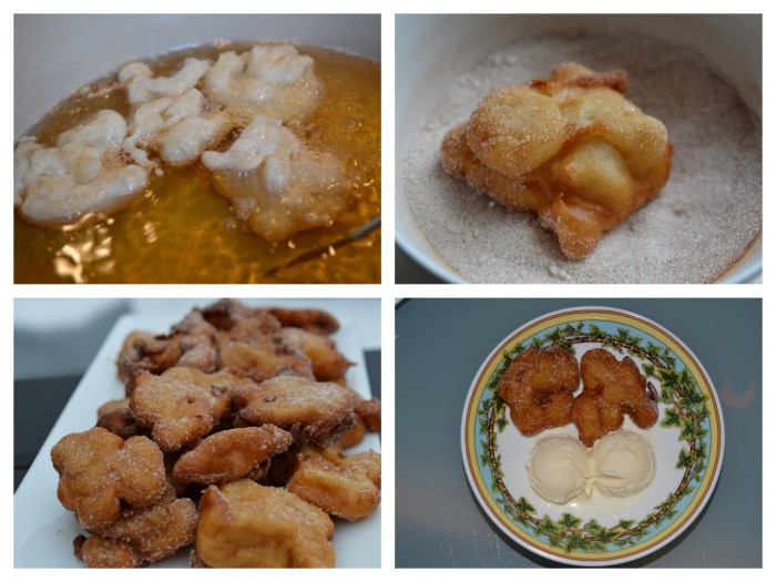 Apple Fritter collage 2