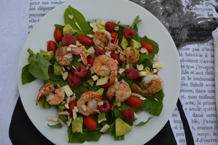 Arugula Shrimp Salad