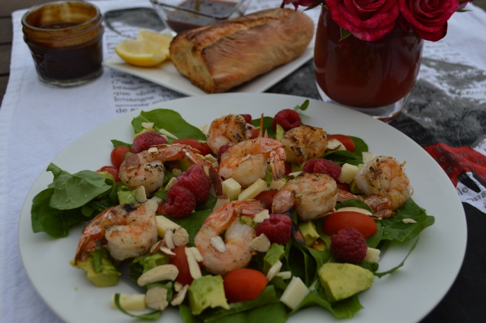 Arugula Shrimp Salad