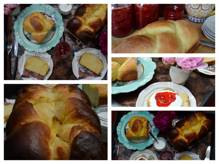 Brioche and Strawberry Jam