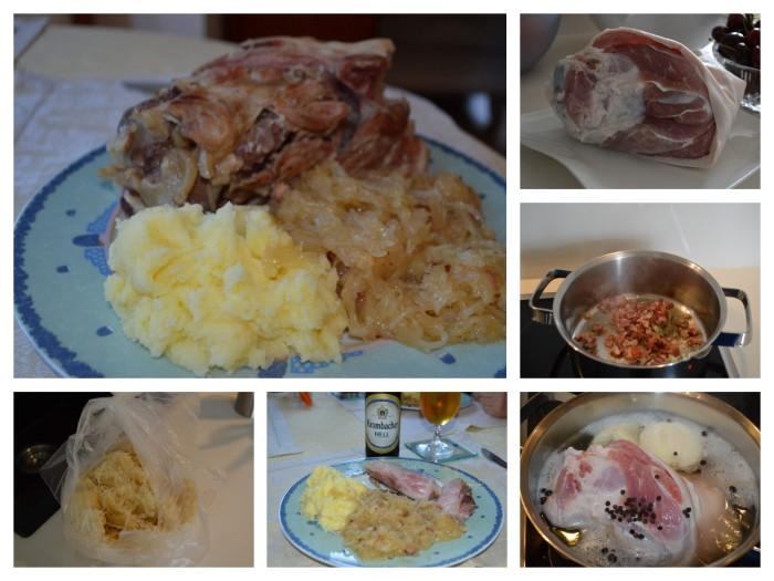 Schweinshaxe collage