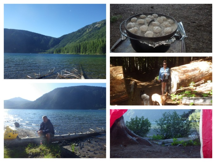 Camping Walupt Lake