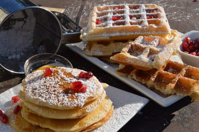 sourdough pancakes and waffles